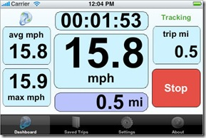 iphone app - the bike computer