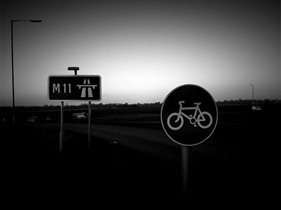 cycling on motorway