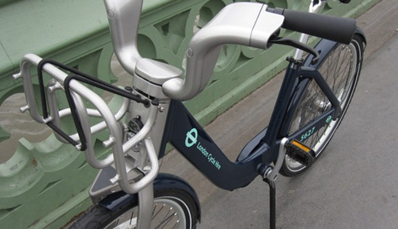 Cycle hire scheme without sponorship