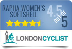 Rapha Women's Softshell Jacket 4.5 out of 5 stars in the review