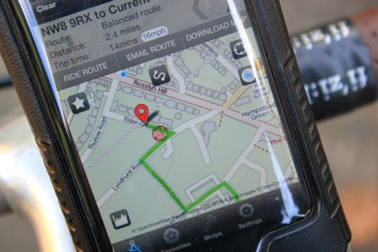 The Bike Hub app is a good alternative to Apple Maps on iOS 6
