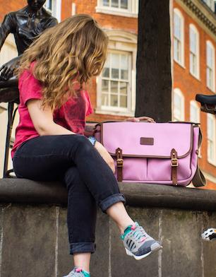 Brompton game bag, pink