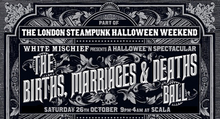 Dates Ideas for Halloween 2013 London Date Guide - Date Halloween 2013