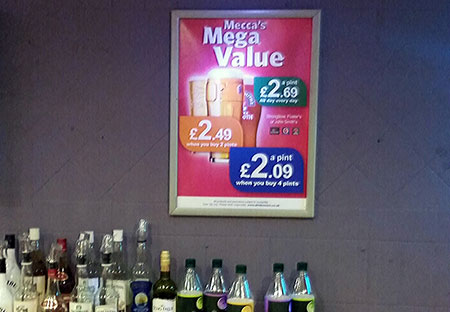 Mecca Bingo Date Drinks Offers