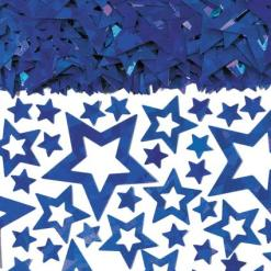 Blue star Shimmer table Confetti