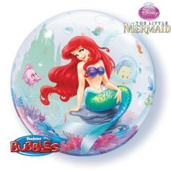 "Disney The Little Mermaid 22"" Bubble Balloon"
