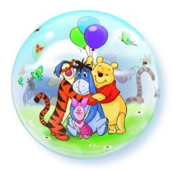 "Disney Winnie the pooh & Friends 22"" Bubble Balloon"