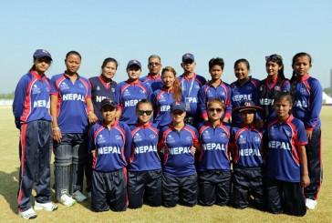 थाइल्याण्डसँग नेपाली महिला क्रिकेट टिम पराजित