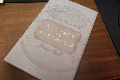 A Voyage to Australia Private Journal of James Bell