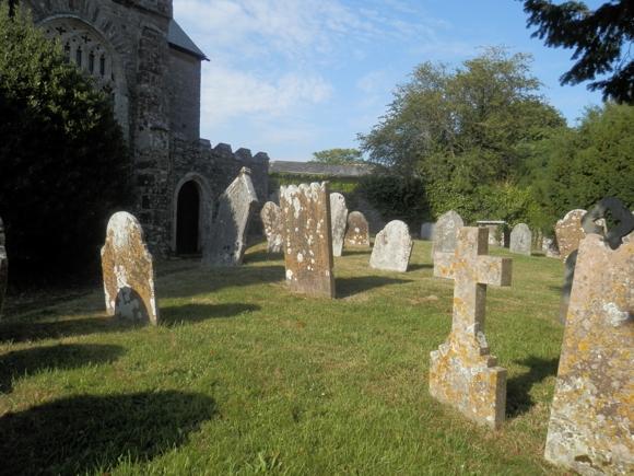 Berry Pomeroy Church, Devon ... home to some of my ancestors