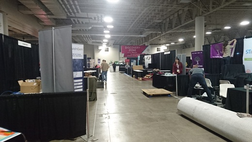 don't forget that it takes time for the smaller vendors to set up too