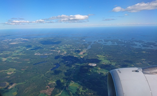 Finland from the air