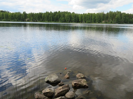 the lake at Heinola