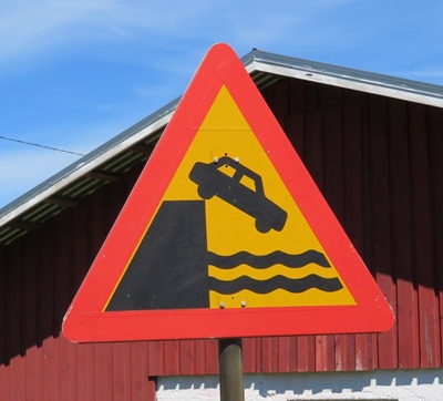 sign on Rosala island