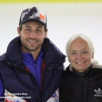 Sommertraining bei Brian Joubert in Poitiers