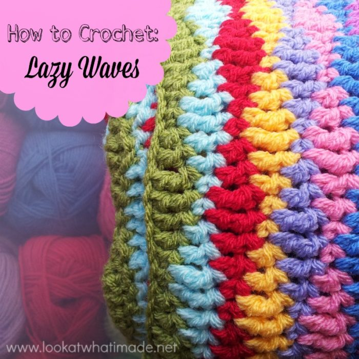 Crochet Pattern Waves : How to Crochet: Lazy Waves