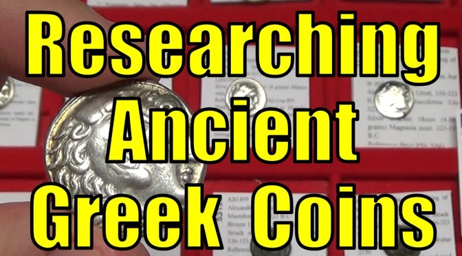 Researching Ancient Greek Coins How To Checklist Article & eBay Items for Sale Search Tool