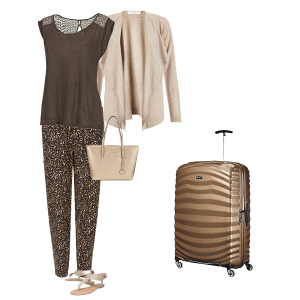 Holiday capsule wardrobe, what to wear to travel