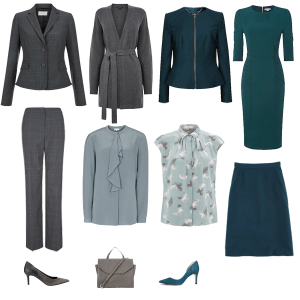 Autumn business capsule wardrobe