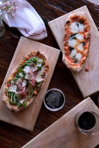 Pizzettas at Osteria La Madia