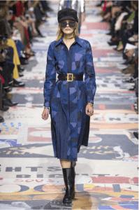 Patchwork dress Dior