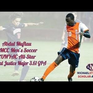 Abdul Muftau 2015 Scholar-Athlete of the Year