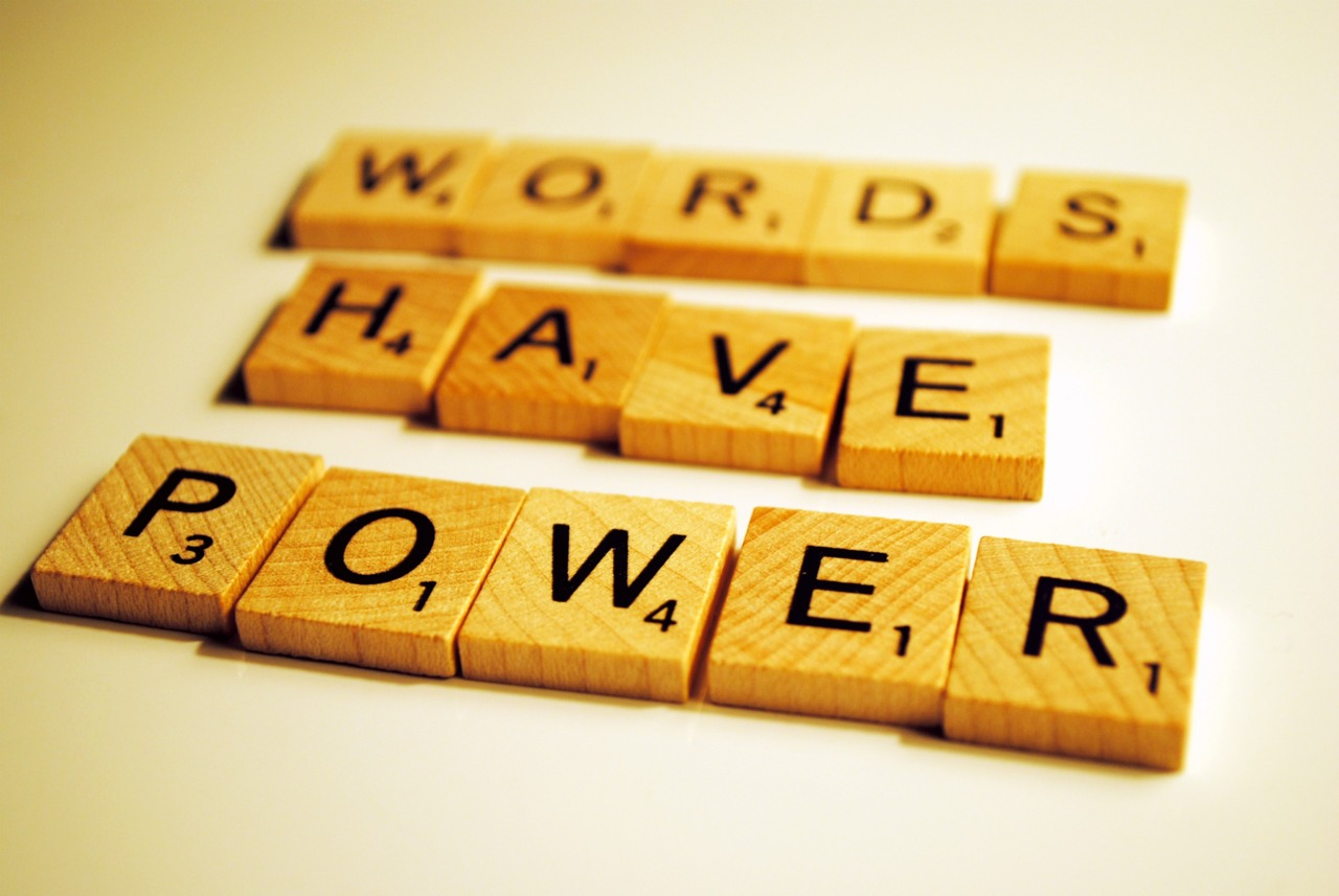 words have power image