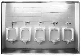 """a Row of Urinal"""