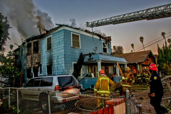 Highland Park Fire Frontal