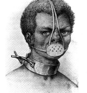 The Frenchman's image of an anonymous slave that would stand in for Anastacia. The blue eyes would be added later.