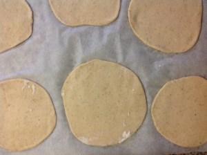 masa pan de pita fermentando