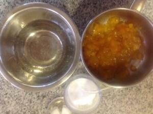 gelatina para tarta de manzana