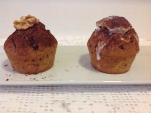 Muffin de manzana y de yoghurt