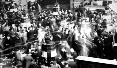 UNITED STATES - FEBRUARY 03:  Floor of the New York Stock Exchange during heavy trading.  1926/Daily News, L.P. (New York)(Photo by NY Daily News Archive via Getty Images)