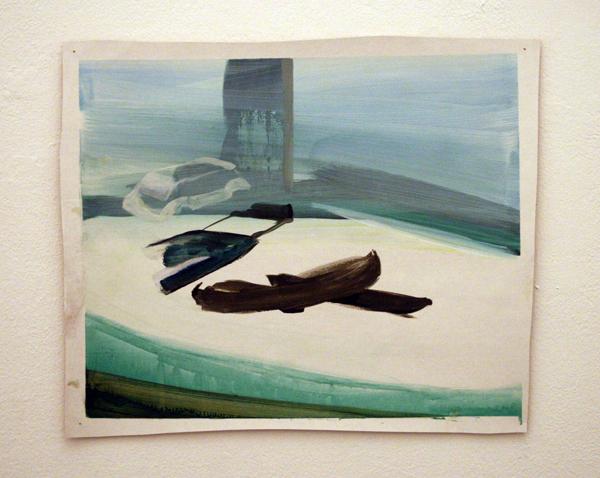Ellen Pil - Three cars a man and a beach