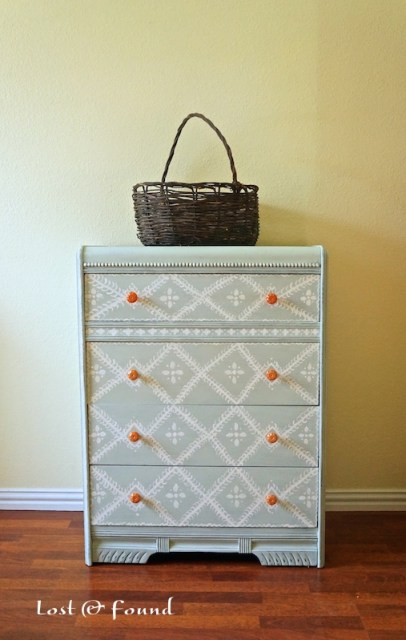 annie sloan chalk paint makeover