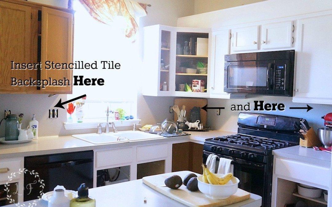 Kitchen Tile Backsplash Change of Plans