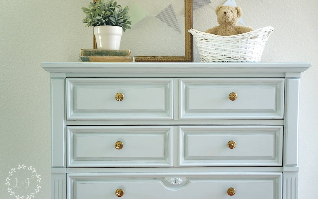 """Little Whale"" Tones for Tots Chest Makeover"