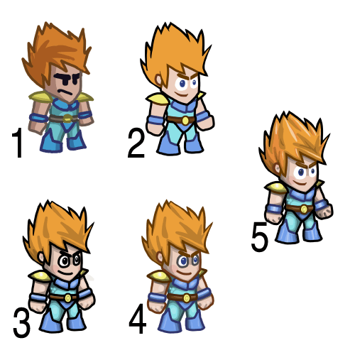 Lava Blade Lars progression