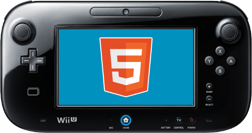 HTML5 games on Wii U
