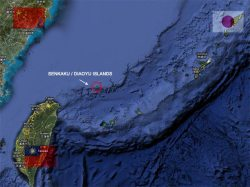 Senkaku / Daiyu Islands Map