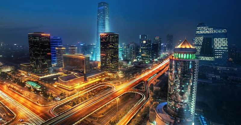 Bustling Beijing. Photo by Trey Ratcliff.