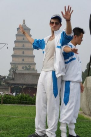 Matt Sheehan and Matt Allen in We Livin in Xi'an