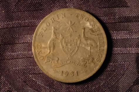 1931 Australian Florin