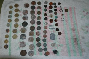 Sorrento Beach Metal Detecting Finds