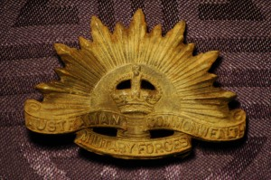 ANZAC Bagde - Australian Commonwealth Forces - WW2 Era