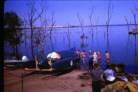 Donald Campbell's Bluebird - Lake Dumbleyung 1964