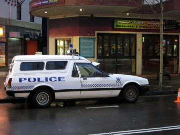 1980's Australian Police Paddy Wagon