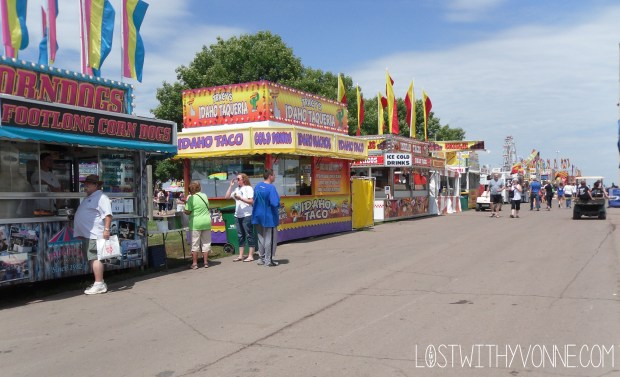 Fair Food Stands
