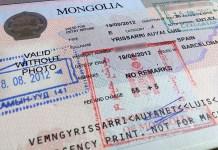 Sacar Visado a Rusia y Mongolia
